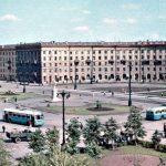 Привокзальная площадь в Воронеже: 70ые года 20 века