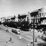 Проспект Революции в Воронеже. 1960 год