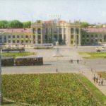 Вокзал в Воронеже.1970-е года
