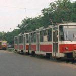 Трамвай в Воронеже фото, 1993 год