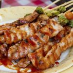 Куриные шашлычки по-турецки