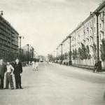 Воронеж, улица Мира, 1955 год.