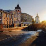 Утро и Каменный мост в Воронеже