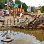 Сквер «Роща сердца» в Воронеже