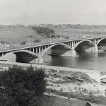 Чернавский мост в Воронеже. 1965 год.