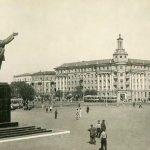 Памятник Ленину в Воронеже, 1960 год