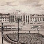 Вокзал в Воронеже. 1950-е года