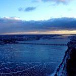 Зимний Воронеж с высоты птичьего полета