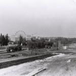 Воронеж, Ленинский проспект. 2 фото, сделанные в 70-х годах 20 века