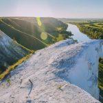Река Дон в Сторожевом, виды сверху