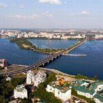 Современный Воронеж сверху